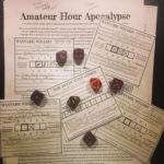 Sample characters and rules from an early version of Amateur Hour Apocalypse