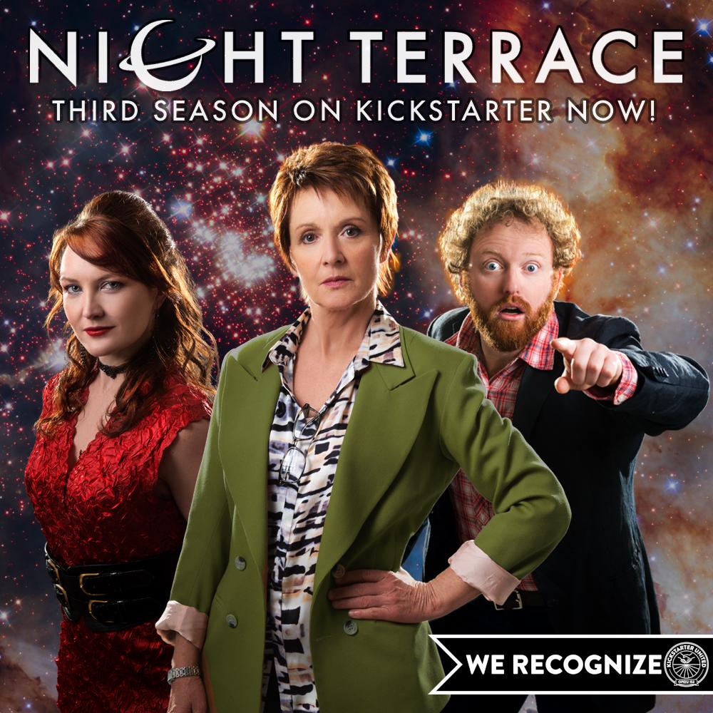 Night Terrace - third season on Kickstarter now!